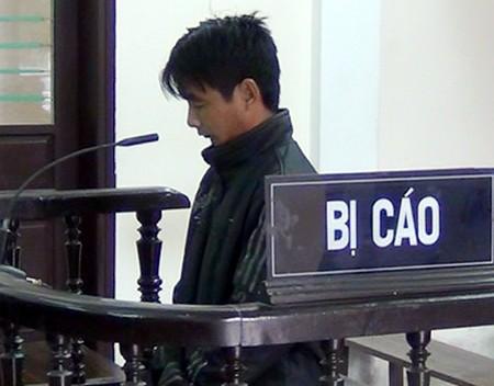 Ngô Trí Dương tại phiên tòa phúc thẩm.