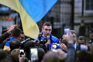 Lãnh đạo đảng UDAR Vitali Klichsko. (Nguồn: Getty)