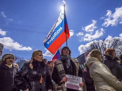 Ukraine phá âm mưu tiếm quyền ở tỉnh giáp Nga