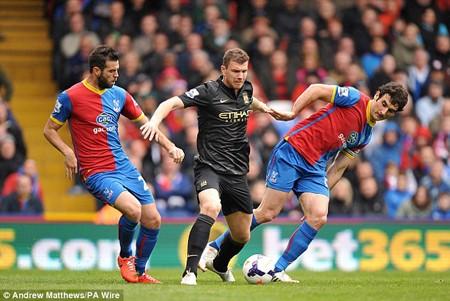 Crystal Palace không có cơ hội kiếm điểm trước một Man City đầy quyết tâm ngày hôm nay