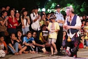 Một điểm vui chơi công cộng trên địa bàn thành phố Huế. (Ảnh: Trần Lê Lâm/TTXVN)