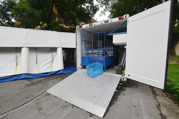 Xe lưu động 16 tỷ phòng chống dịch Ebola của VN