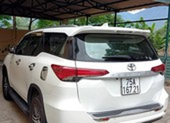 Xe 7 chỗ bị xử phạt vì chở khách
