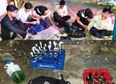 Nổ súng bắt nhóm thanh niên chuẩn bị 'bom xăng' đi đánh nhau