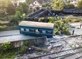 Lật đoàn tàu hỏa chở than ở Quảng Ninh, 1 người bị thương