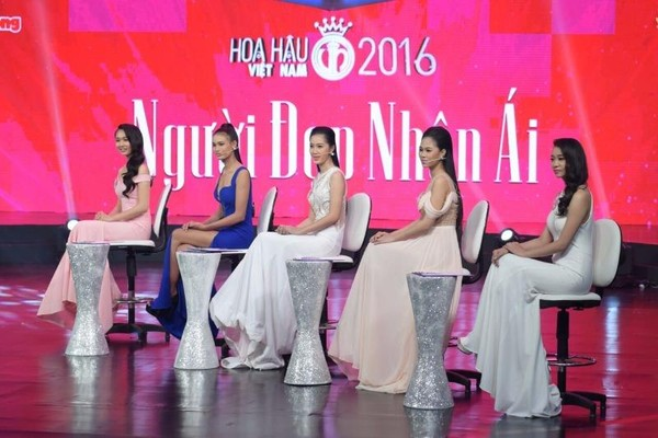 các thí sinh hoa hậu việt nam 2016