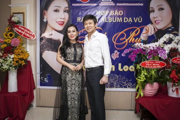 Danh ca Thái Châu cho biết sẵn sàng hợp tác cùng giọng ca bolero ngọt ngào của Lưu Ánh Loan.