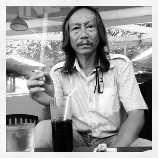 Họa sĩ Bùi Quang Lâm.