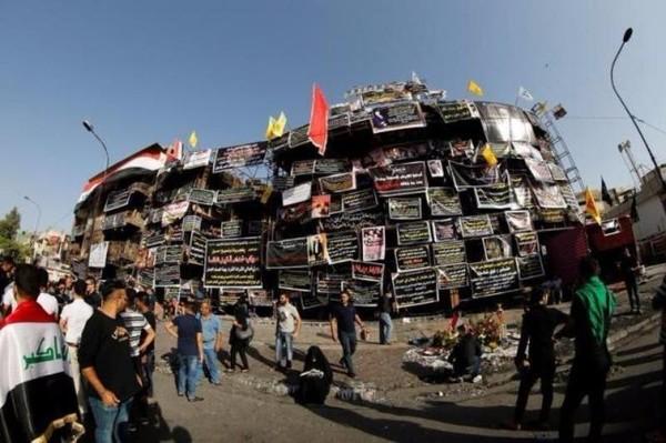 Địa điểm xảy ra vụ đánh bom tự sát bằng xe tải ngày 3-7 làm gần 300 người chết.