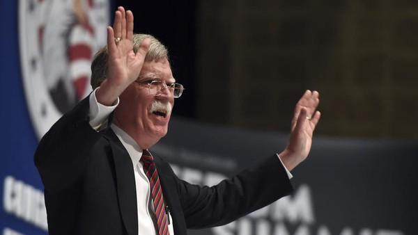 Ông John Bolton – một ứng viên cho vị trí Ngoại trưởng trong nội các mới của ông Trump.