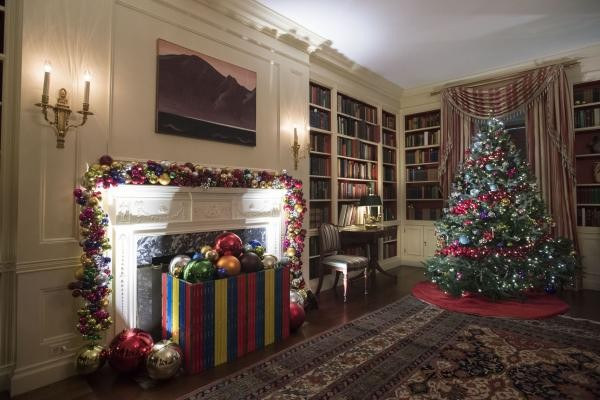Đây sẽ là mùa Giáng sinh và Năm mới cuối cùng gia đình Obama đón tại Nhà Trắng.