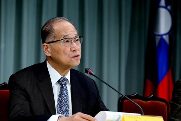 Lãnh đạo ngoại giao Đài Loan David Tawei Lee thông báo về quyết định chấm dứt quan hệ ngoại giao với São Tomé và Príncipe trong cuộc họp báo ngày 21-12 tại Đài Loan. Ảnh: TAIWAN TODAY