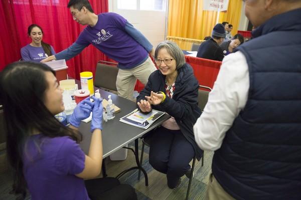 Đây là năm thứ ba liên tiếp chuỗi hoạt động Tet in Seattle có tổ chức triển lãm y tế. Ảnh: SEATTLE TIMES