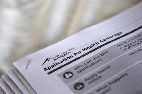 Bản đăng ký bảo hiểm y tế tại một trung tâm y tế ở Mississipi (Mỹ). Ảnh: REUTERS