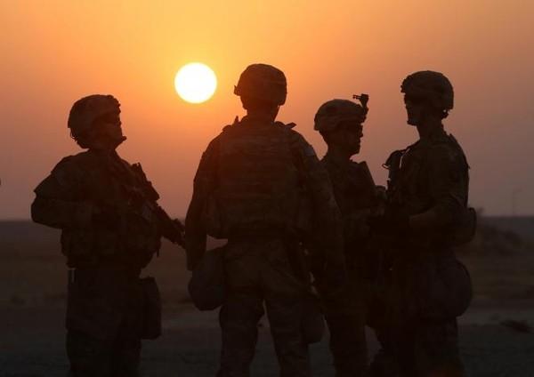 Lính Mỹ tại căn cứ quân sự Qayyara, nam Mosul (Iraq). Ảnh: REUTERS