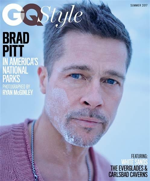 Brad Pitt trên ấn phẩm mùa hè 2017 của tạp chí GQ Style. Ảnh: TODAY