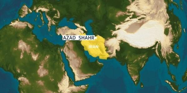 Vị trí nổ hầm mỏ Iran. Ảnh: SIASAT