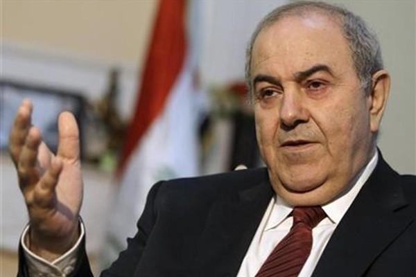 Phó Tổng thống Iraq Ayad Allawi đánh giá Mỹ không có chiến lược ngăn chặn chủ nghĩa cực đoan ở Trung Đông. Ảnh: THE BAGHDAD POST