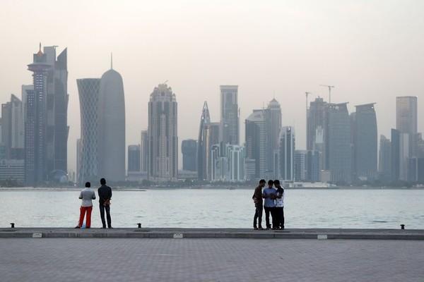 Nhập khẩu của Qatar giảm 38% kể từ khi bị cô lập hồi tháng 6. Ảnh: GETTY IMAGES