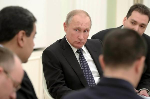 Tổng thống Nga Vladimir Putin tại Nga ngày 4-10. Ảnh: REUTERS