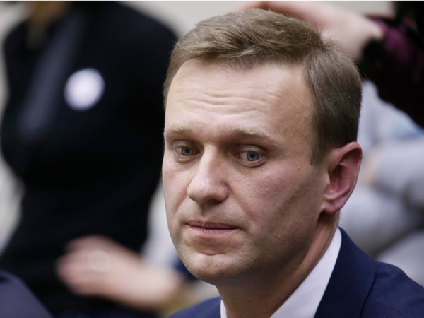 Lãnh đạo đối lập Alexei Navalny bị cấm tham gia tranh cử vì vướng cáo buộc tham ô. Ảnh: REUTERS