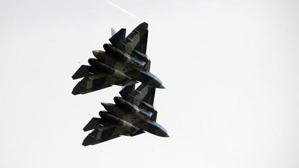 Máy bay chiến đấu thế hệ mới thứ 5 Su-57 của Nga. Ảnh: SPUTNIK