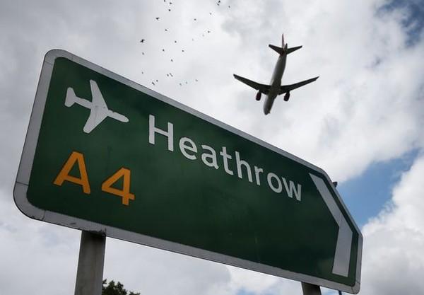 Sân bay Heathrow ở London, địa điểm xảy ra vụ căng thẳng mới giữa Nga và Anh. Ảnh: GETTY IMAGES