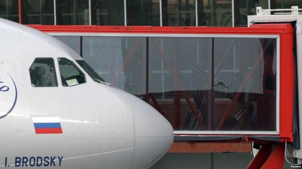 Máy bay của hãng Aeroflot. Ảnh: REUTERS