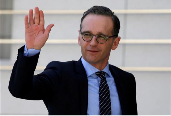 Ngoại trưởng Đức Heiko Maas muốn khôi phục lòng tin với Nga sau vụ ông Skripal. Ảnh: REUTERS
