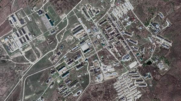 Căn cứ quân sự Shikhany của Nga. Ảnh: GOOGLE MAPS
