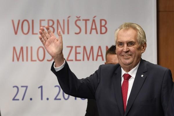 Tổng thống Czech Milos Zeman xác nhận nước này có sản xuất và thử nghiệm chất Novichok. Ảnh: AP