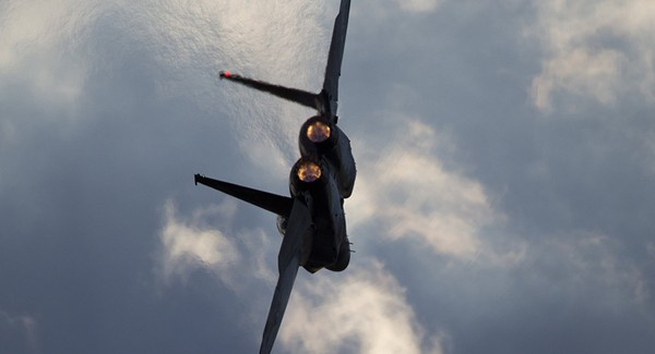 Máy bay chiến đấu F-15 của không quân Israel. Ảnh: AP