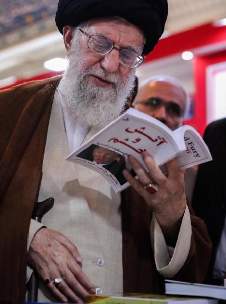 Hình ảnh mới nhất của lãnh đạo Iran Ayatollah Khamenei trên tài khoản INSTAGRAM của mình.