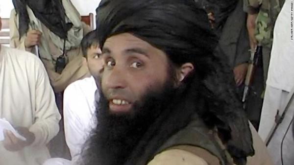Thủ lĩnh Taliban tại Pakistan Mullah Fazlullah vừa bị Mỹ không kích tiêu diệt. Ảnh: CNN