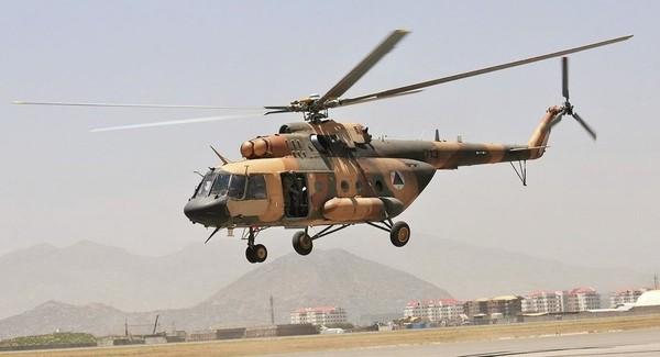 Trực thăng Mi-17 của Nga ở Afghanistan. Ảnh: SPUTNIK