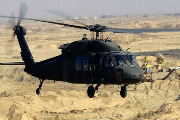 Trực thăng Black Hawk của Mỹ. Ảnh: DEFENCE SYSTEM
