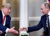 2 ông Trump-Putin bắt tay nhau chỉ 3 giây
