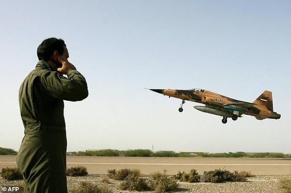 F-5 được Iran mua từ Mỹ trước cuộc chiến tranh Hồi giáo năm 1979. Ảnh: AFP