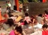 Nổ lớn ở trường mầm non Trung Quốc, 7 người chết