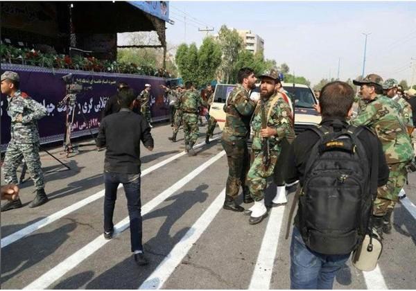 Iran thề trả thù chí tử vụ đoàn diễu binh bị tấn công. Ảnh: REUTERS