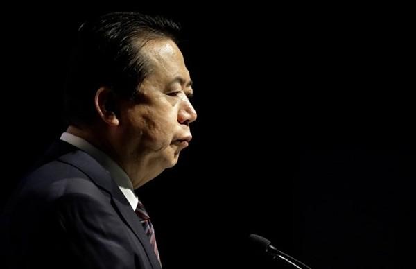 Chủ tịch Interpol Mạnh Hoàng Vĩ có thể đang bị Trung Quốc thẩm vấn. Ảnh: GT