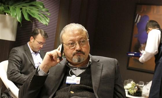 """""""Tôi ngạt thở, lấy cái túi khỏi đầu tôi"""" là những lời cuối cùng của nhà báo Khashoggi trước khi chết. Ảnh: AP"""