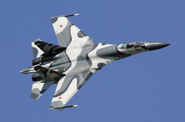 Máy bay chiến đấu Su-27 của Nga. Ảnh: AFP