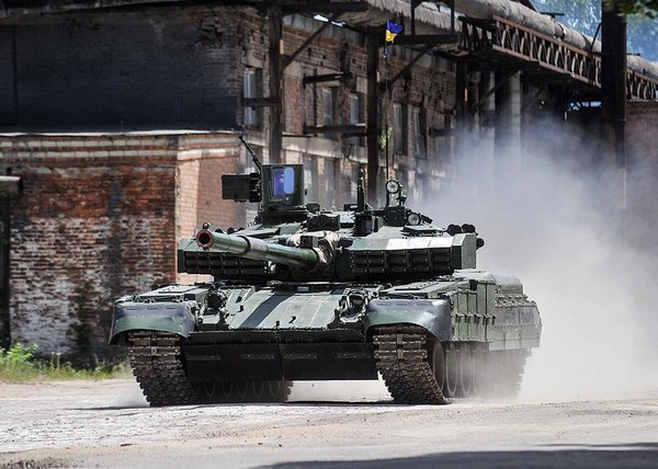 Xe tăng Ukraine. Ảnh: UNIAN