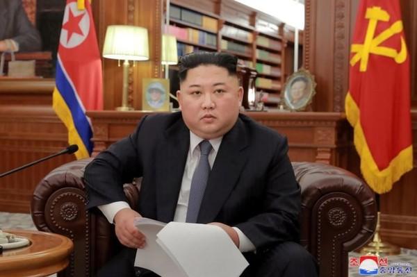 Lãnh đạo Triều Tiên Kim Jong-un trong bức ảnh chụp ngày đầu năm 1-1-2009 tại thủ đô Bình Nhưỡng. Ảnh: KCNA