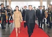 Vợ ông Kim Jong-un không sang Việt Nam cùng chồng