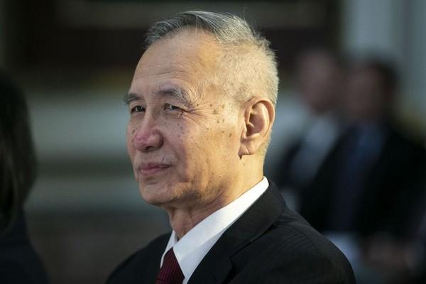 Phó Thủ tướng Trung Quốc Lưu Hạc dẫn đầu phái đoàn Trung Quốc sang Mỹ đàm phán thương mại. Ảnh: BLOOMBERG