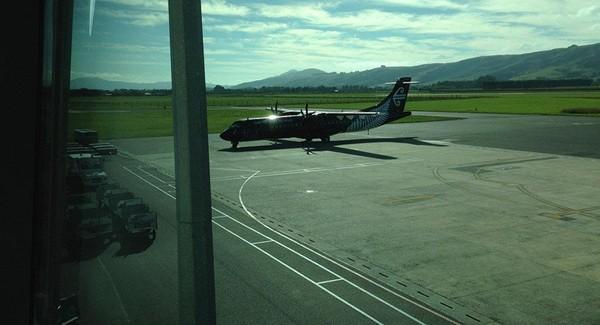 Sân bay quốc tế Dunedin của New Zealand phải đóng cửa vì có một gói hàng khả nghi. Ảnh: SPUTNIK