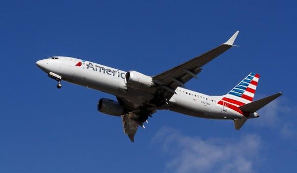 Một chiếc Boeing 737 MAX 8 của hãng American Airlines. Ảnh: EPA
