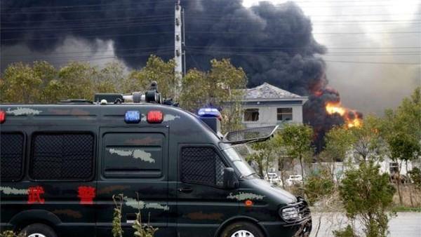Đây là một trong những vụ tai nạn công nghiệp nghiêm trọng nhất Trung Quốc. Ảnh: REUTERS